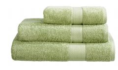 Sage Green 100% Cotton Turkish Ringspun Towels 500 Gsm